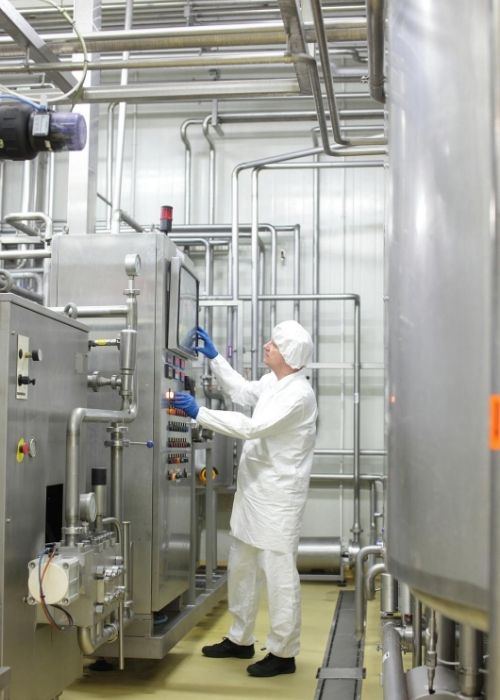 food processing chillers